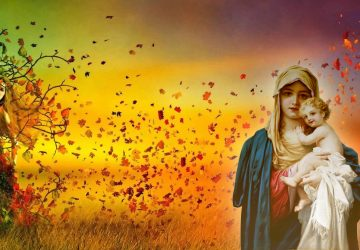Mother Mary With Baby Jesus Hd Wallpapers