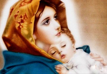 Picture Of Mother Mary With Baby Jesus