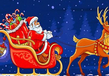 Pictures Of Santas Sleigh