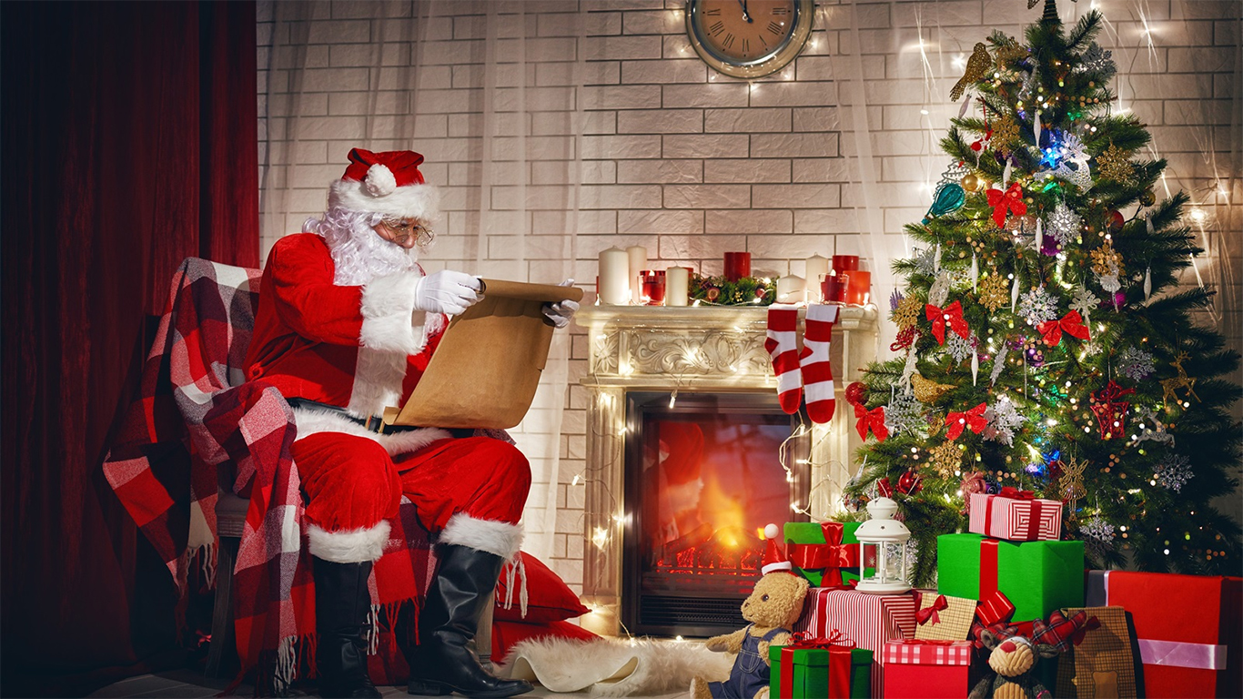 Pictures Of The Real Santa Claus