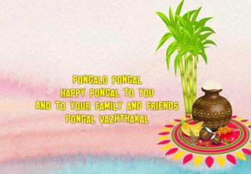 Pongal Festival Background Image 1920×1080