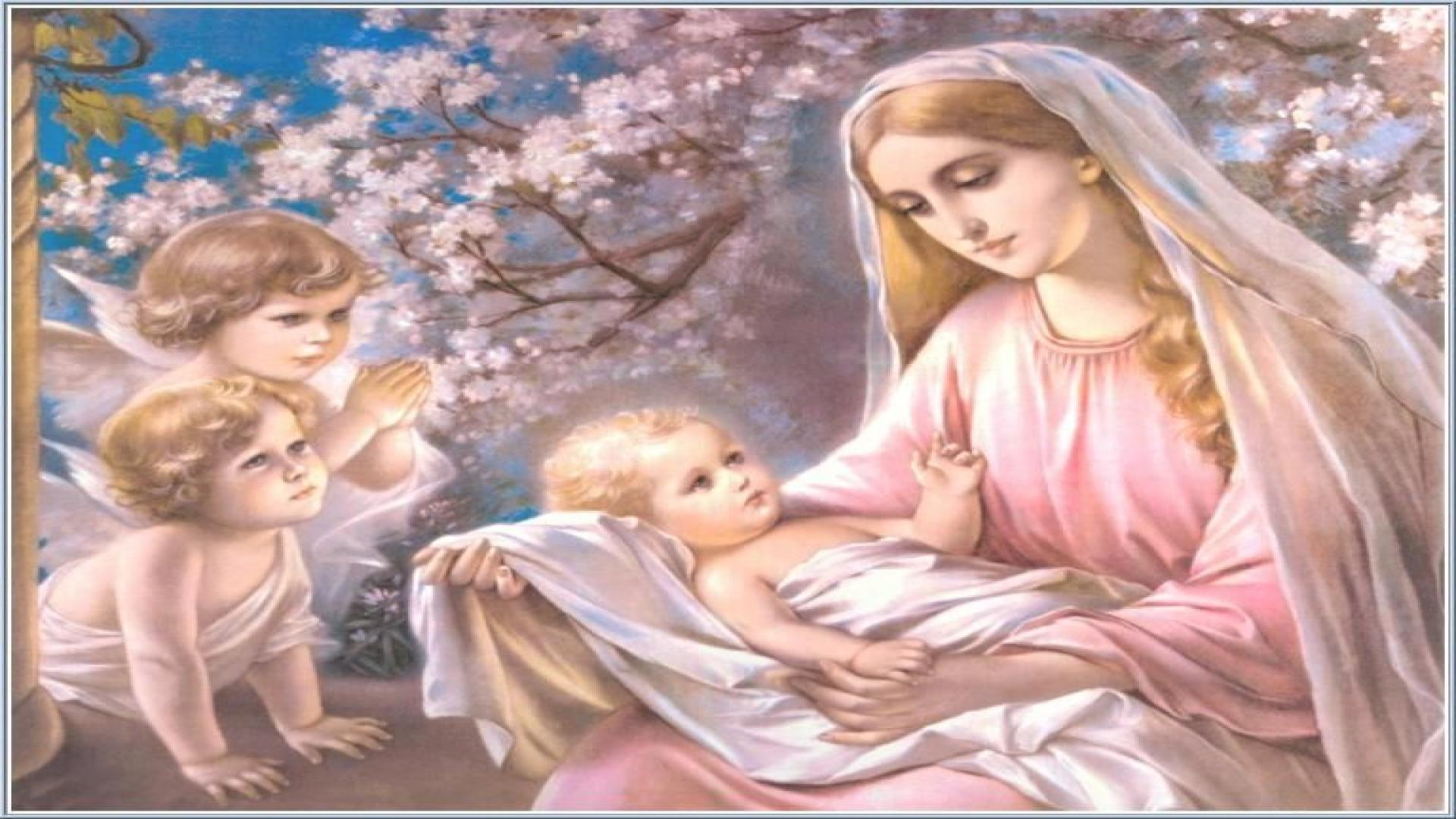 Printable Images Of Mary And Baby Jesus