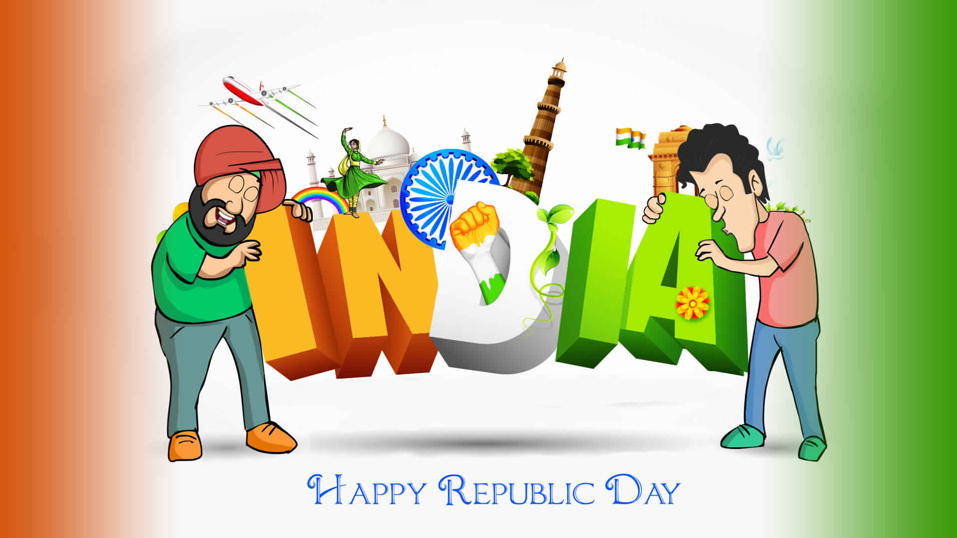 Republic Day Hd Wallpaper For Facebook Dp Free Download