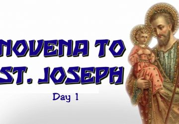 Saint Joseph Novena Day1