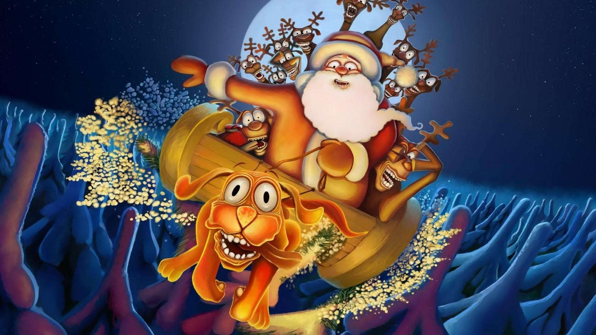 Santa Claus 3d Live Wallpaper And Screensaver