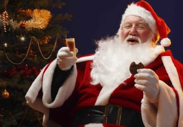 Santa Claus Funny Profile Picture