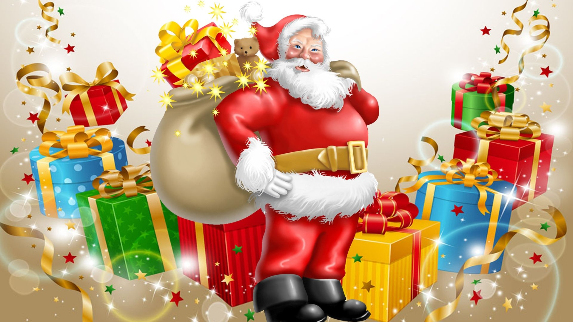 Santa Claus Hd 3d Wallpapers 1080p
