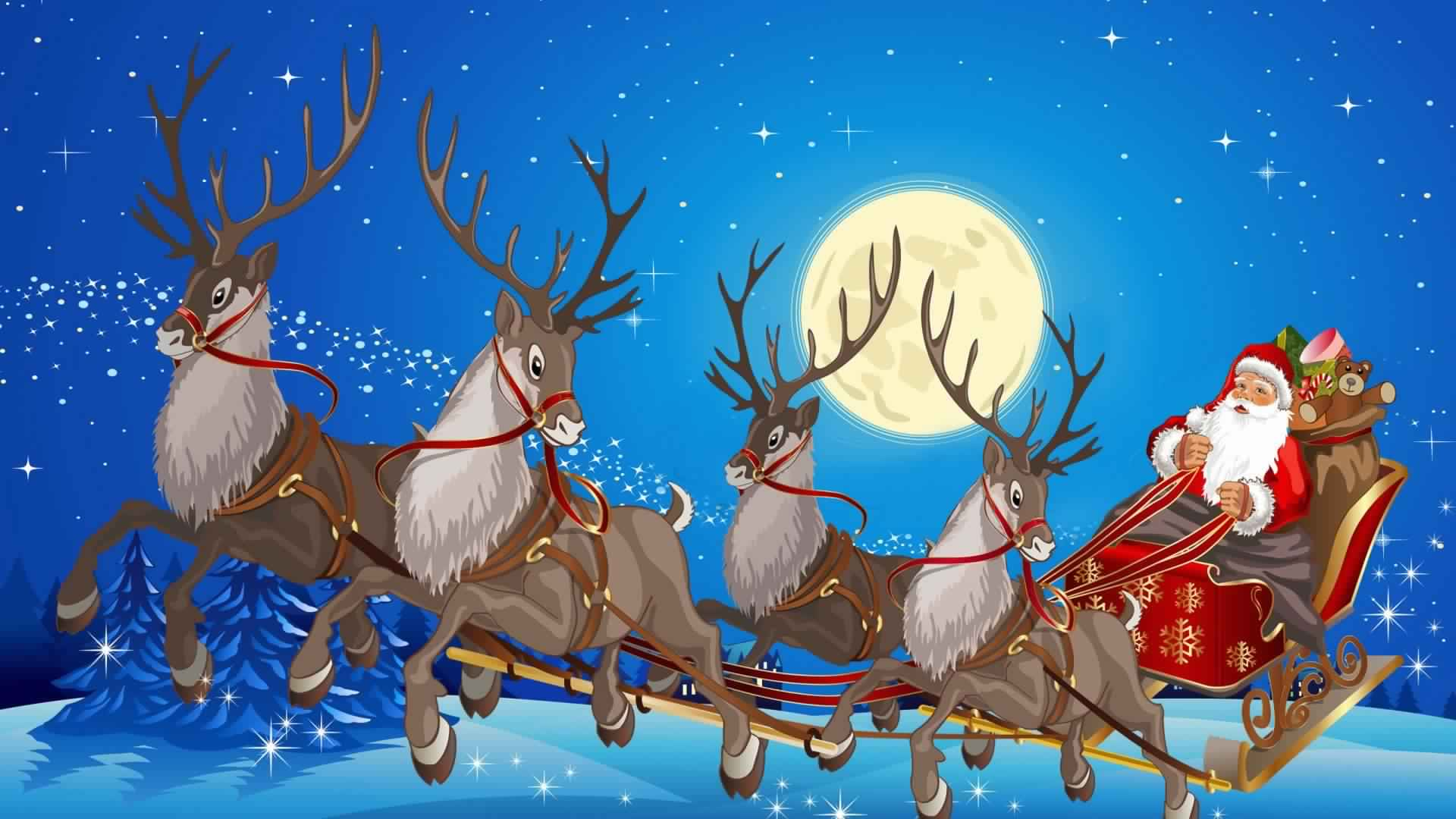 Santa Claus Hd Wallpaper Free Download For Desktop