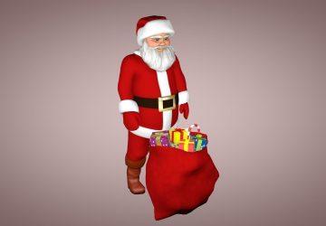 Santa Claus Mode 3d
