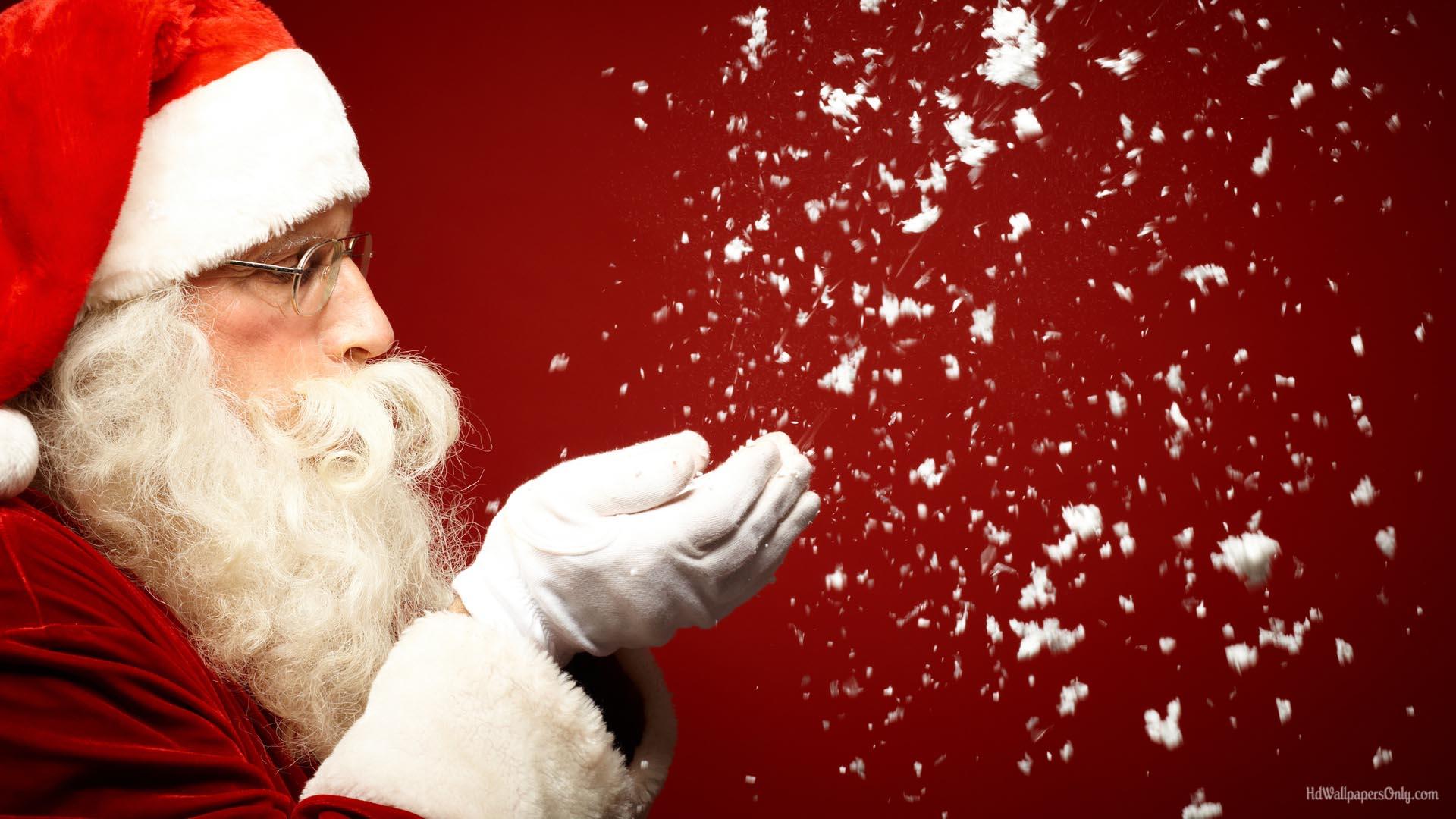 Santa Face Images Hd