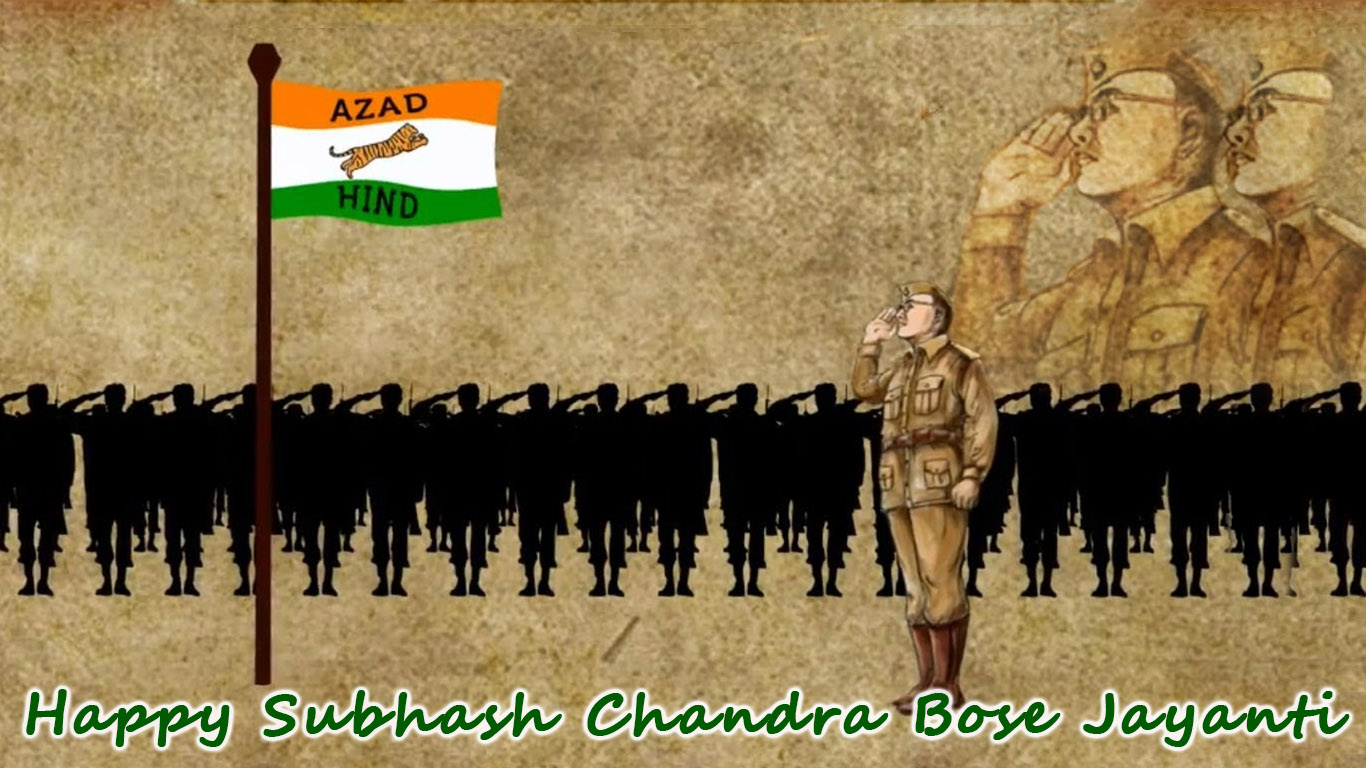 Subhash Chandra Bose Birthday Hd Images