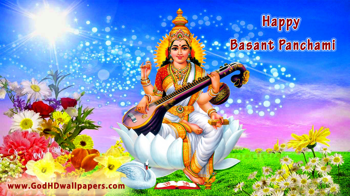 Vasant Panchami Hd 3d Wallpaper