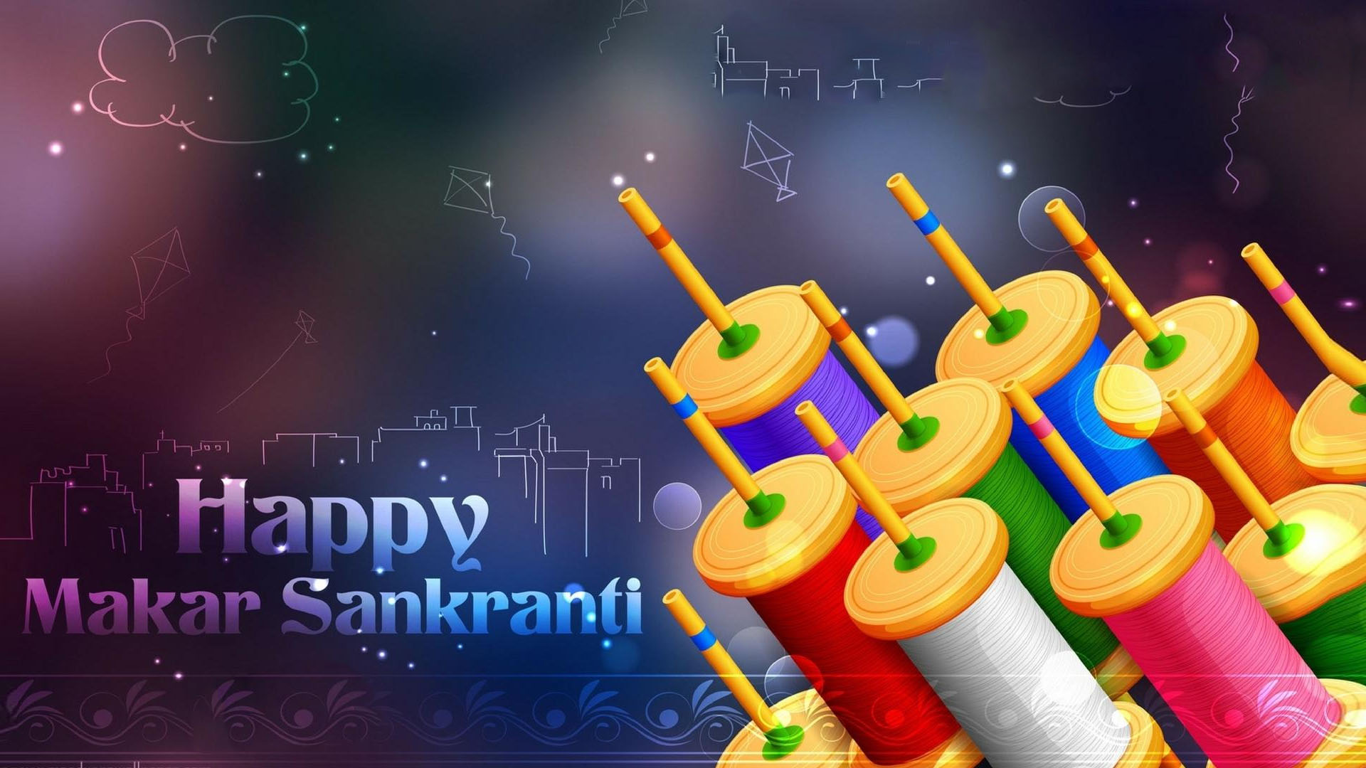 Wallpapers Of Makar Sankranti Festival In India