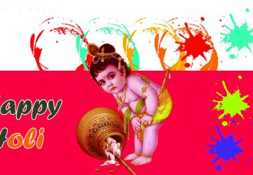Bal Krishna Holi Photos Free Download