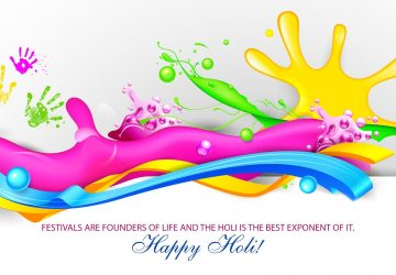 Happy Holi Facebook Cover Picture Quotes In English