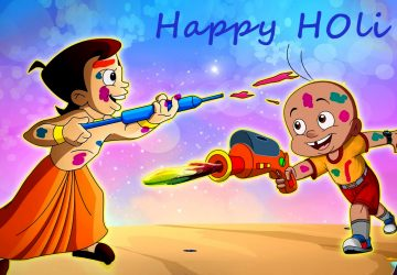 Happy Holi Funny Cartoon Images