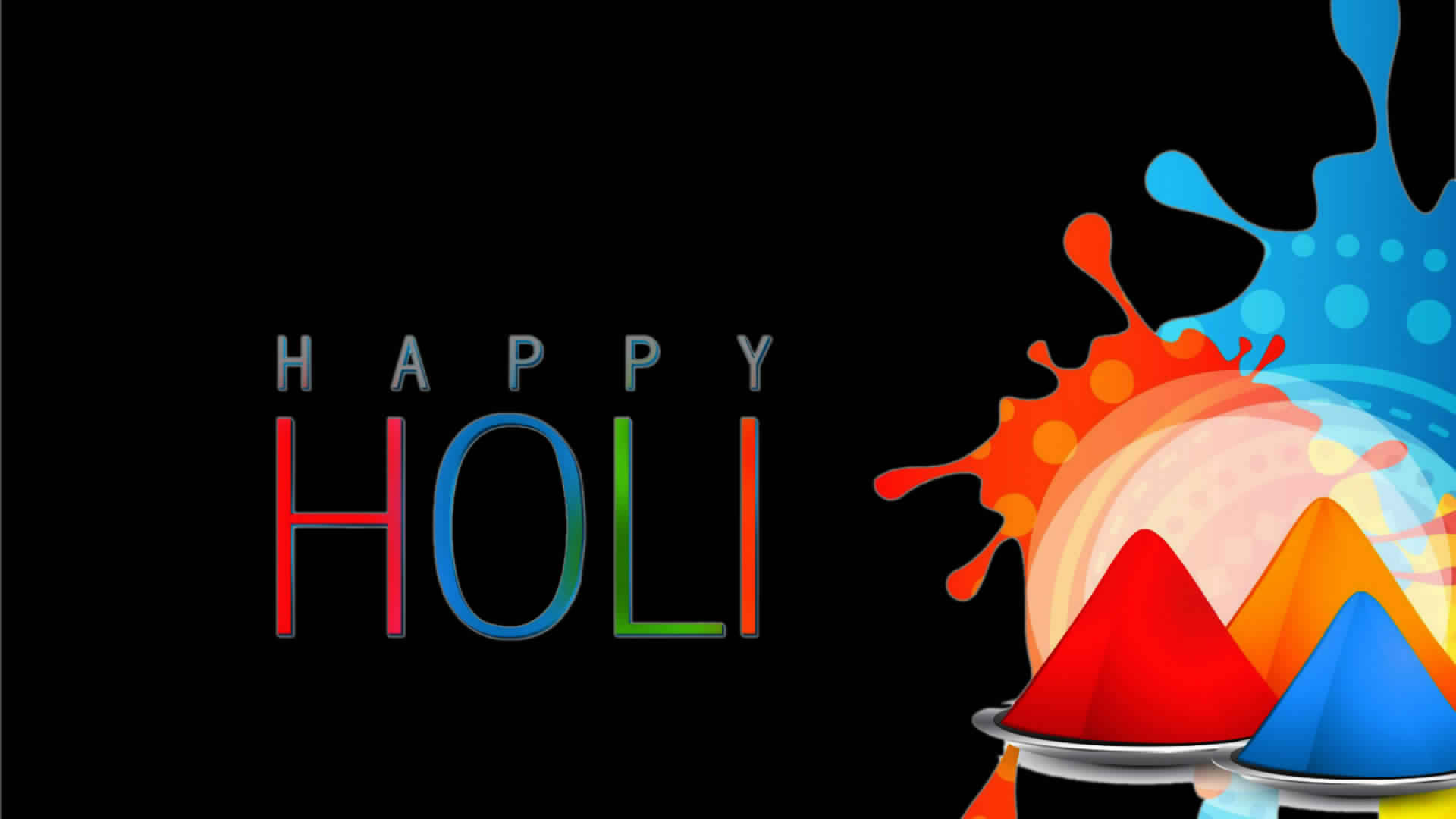 Happy Holi High Resolution 1080p Wallpapers