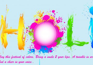 Happy Holi In Advance Quotes Wishes Sms Image