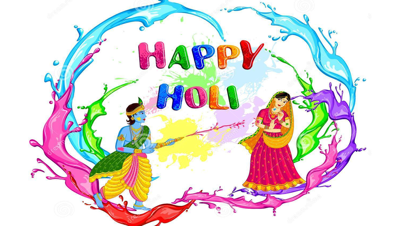 Happy Holi Photos For Lovers