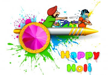 Happy Holi Wallpaper Santabanta