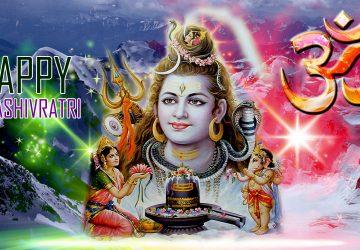Happy Mahashivratri Full Hd Wallpaper
