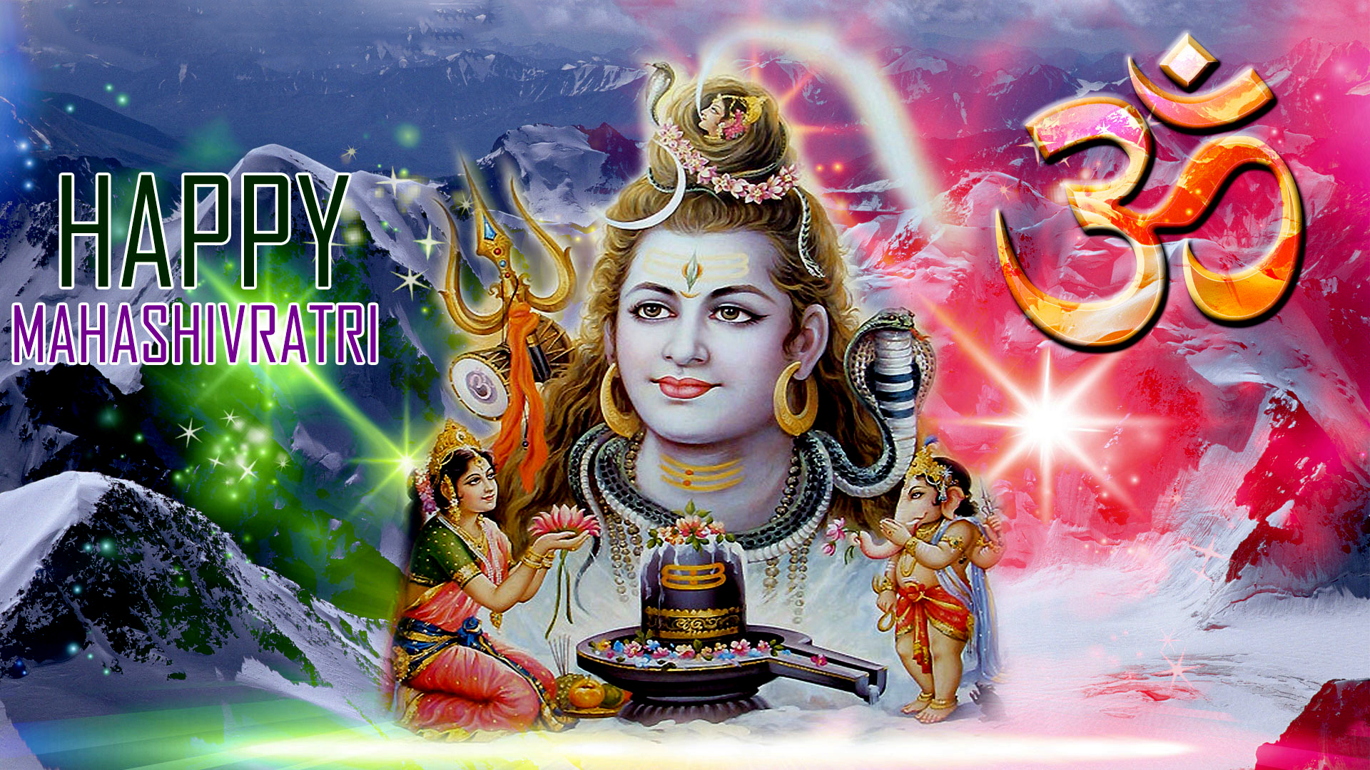 Happy Mahashivratri Full Hd Wallpaper