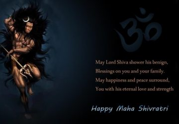 Happy Shivratri Quotes Mahashivratri Banner Background