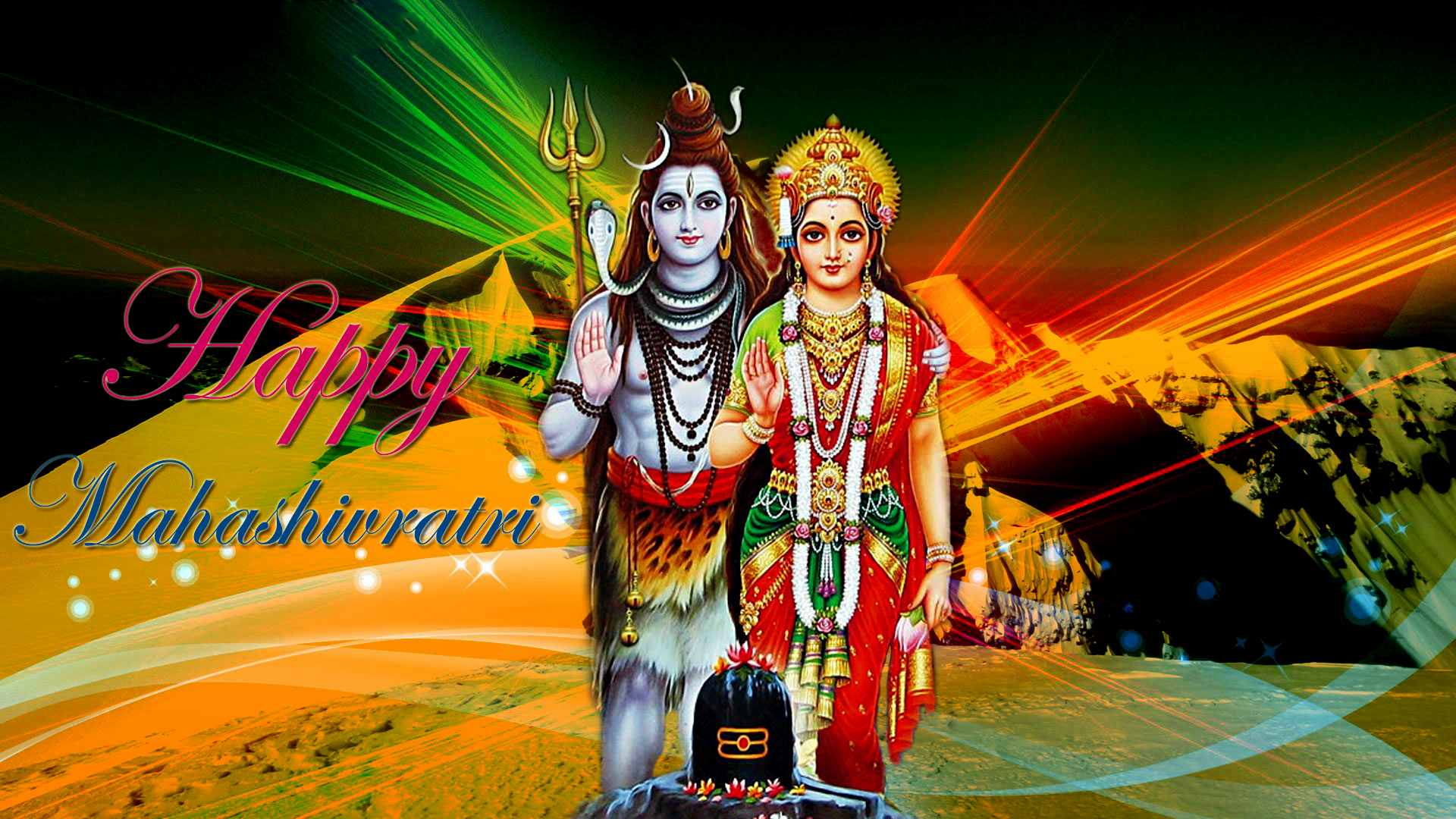 Happy Shivratri Shiv Parvati Hd Wallpapers For Android Mobile