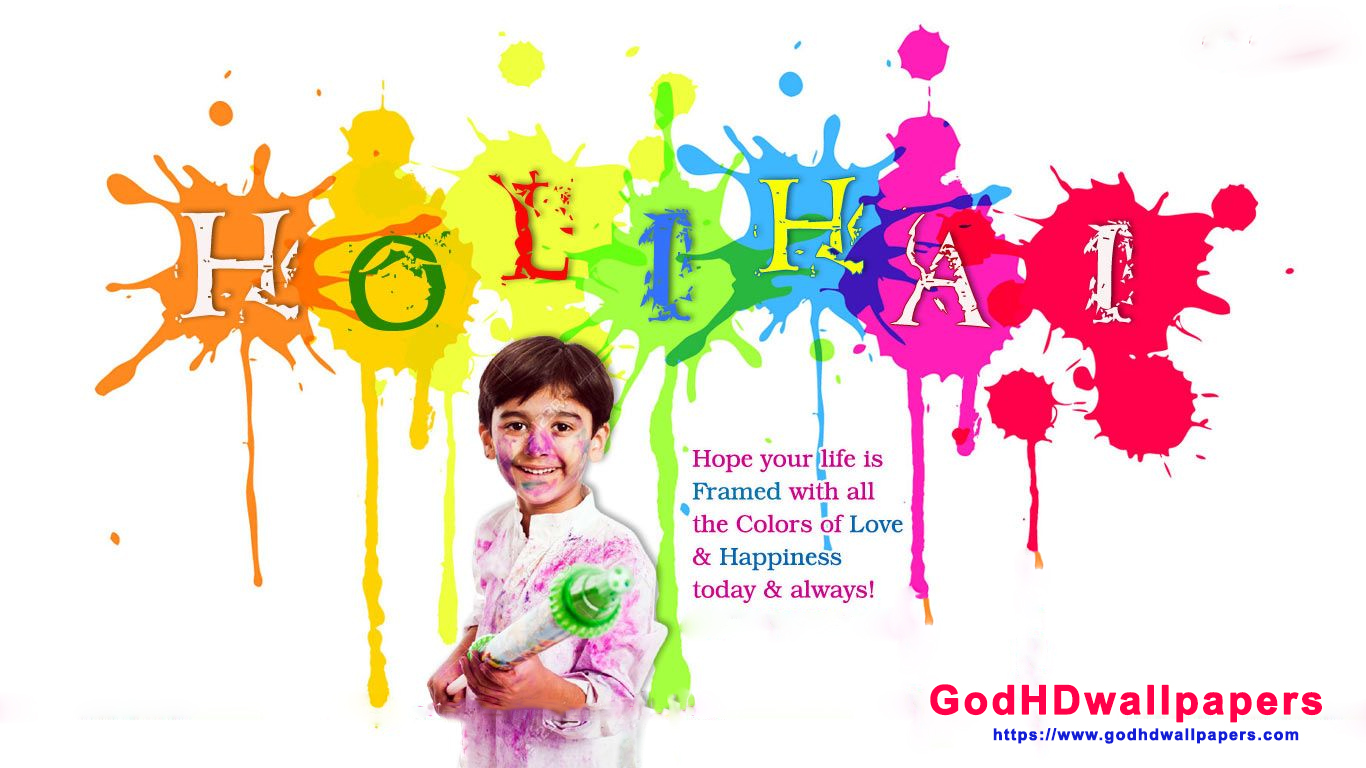 Holi Colours Background Wallpapers For Iphone Mobile