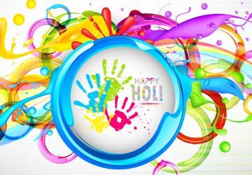 Holi Colours Desktop Background Wallpaper Hd