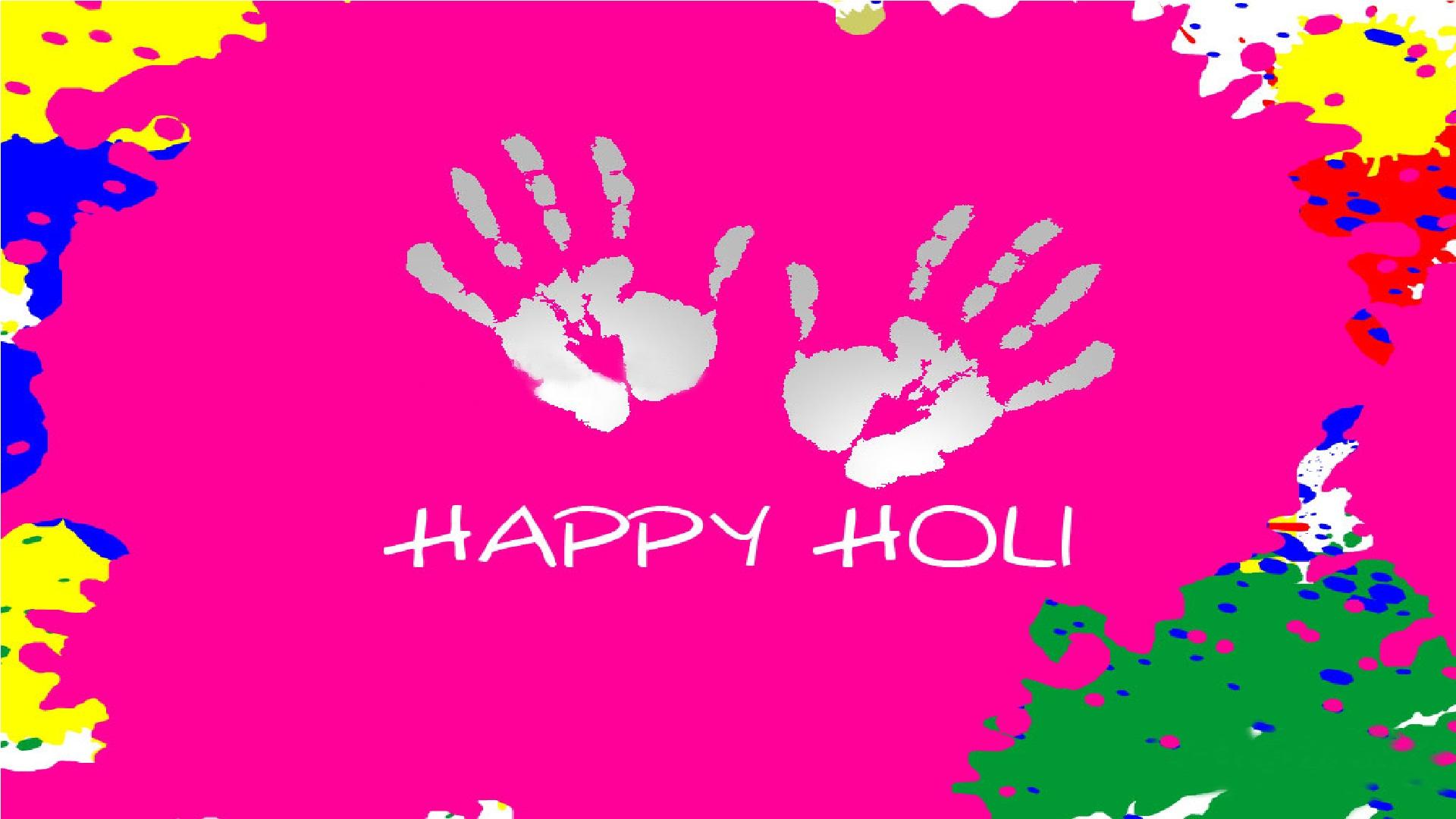 Holi Hai Take A Splash Colors Of Holi 1080p