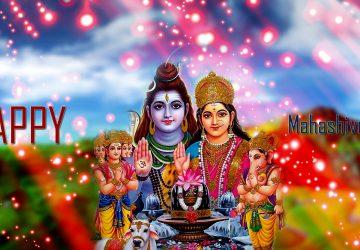 Maha Shivratri Shiv Parvati Family Images