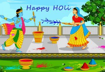 Radha Krishna Hd Holi Wallpapers For Desktop
