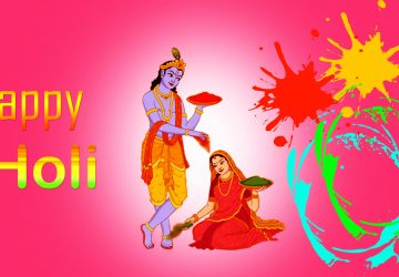 Radha Krishna Holi Hd Wallpaper Download 1920×1080