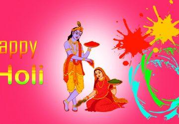 Radha Krishna Holi Hd Wallpaper Download 1920×1080