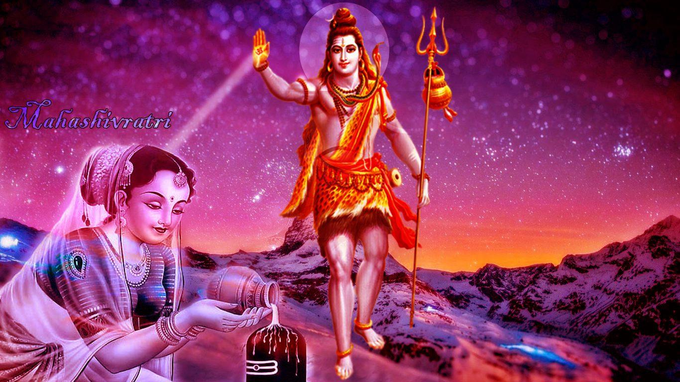 Shiv Parvati Images Hd Wallpapers Maha Shivratri Festivals