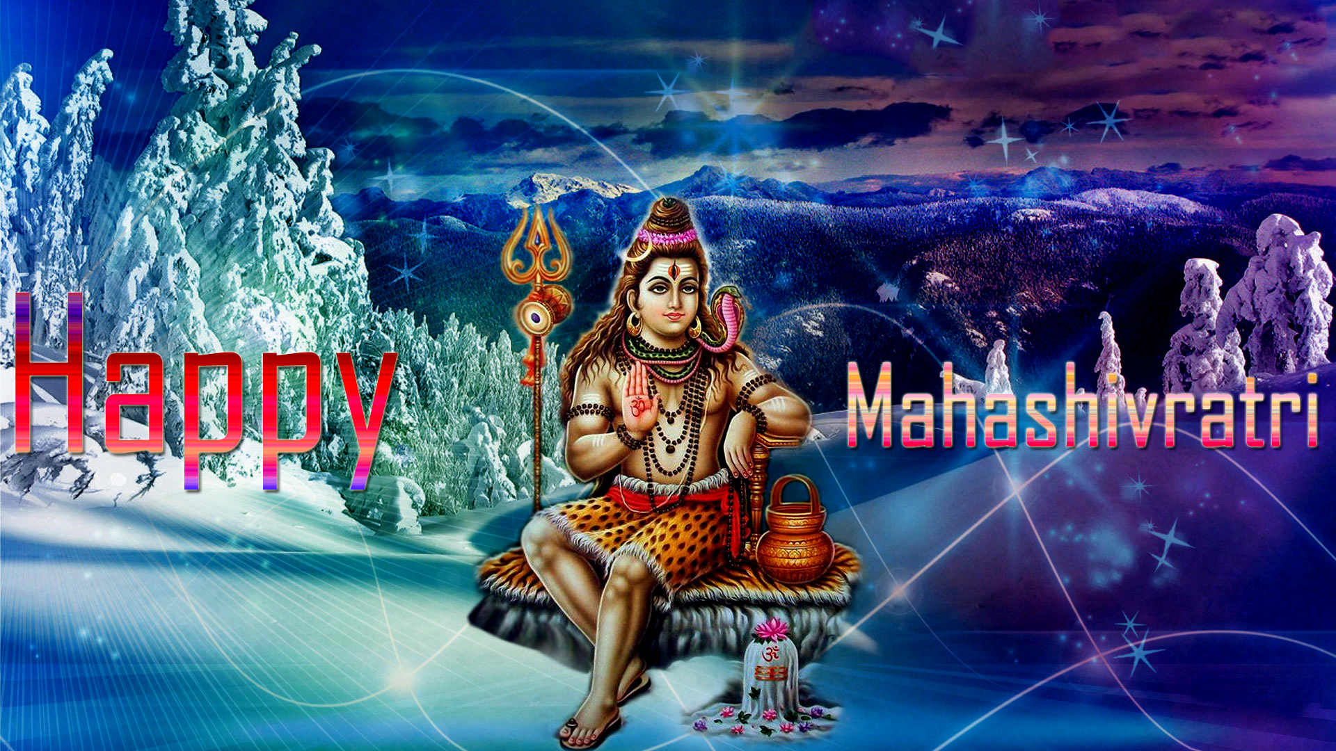 Shiva Maha Shivaratri Hd Wallpapers