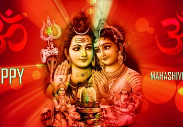 Shivratri Shiva Parvati Full Hd Wallpapers 1080p