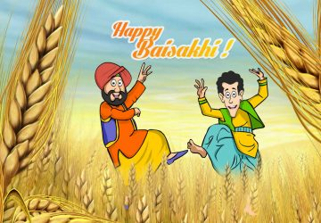 Baisakhi Cartoon Images