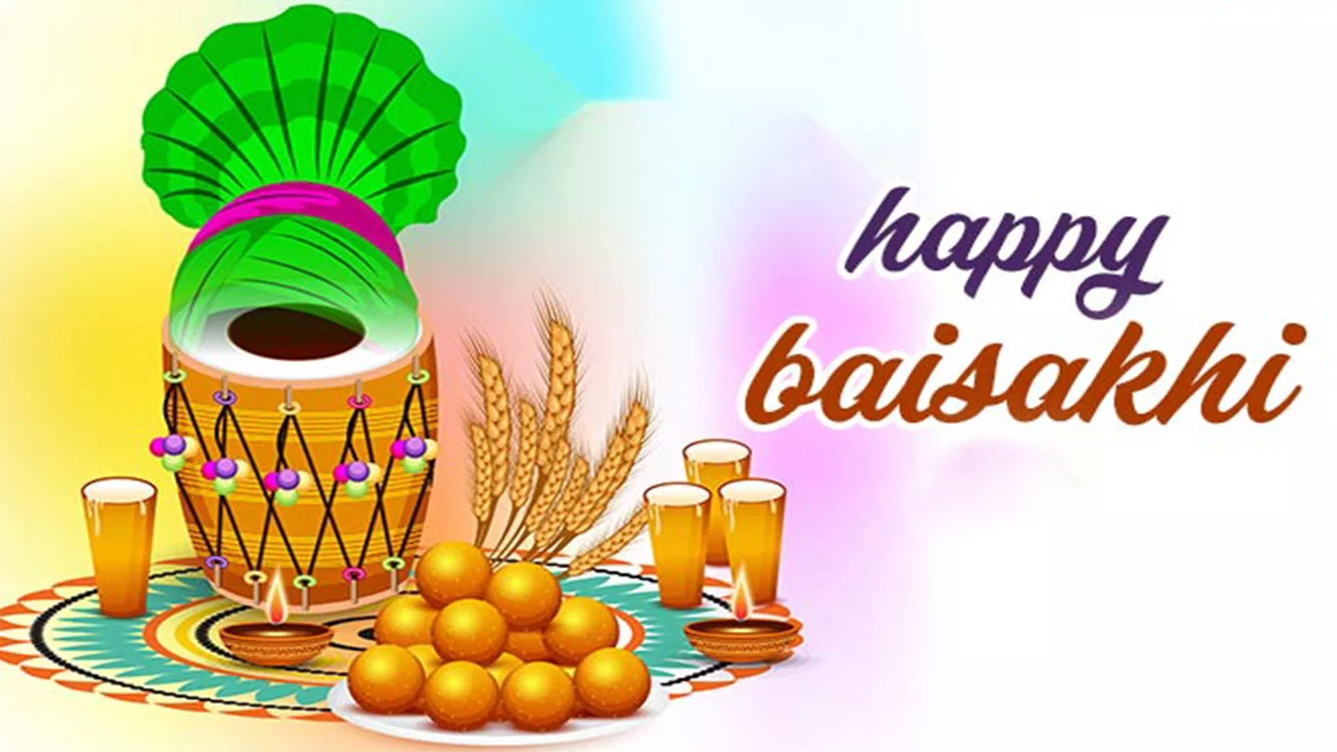 Baisakhi Images With Quotes In Hindi