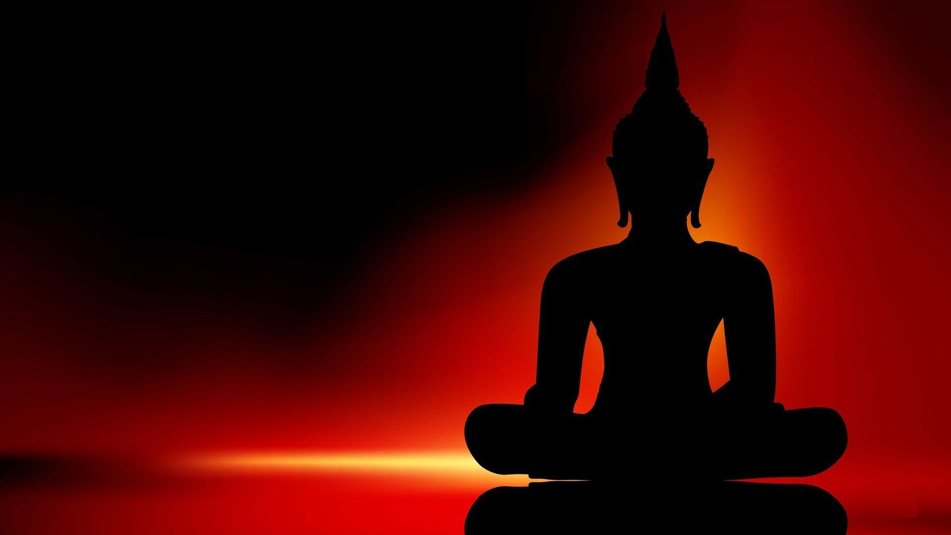 Buddha Wonderful 3d Hd Wallpapers Buddha Black Shading Images 1920×1080