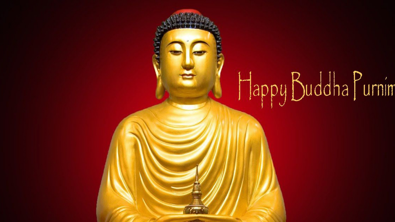 Happy Buddha Purnima Hd Images 1366×768