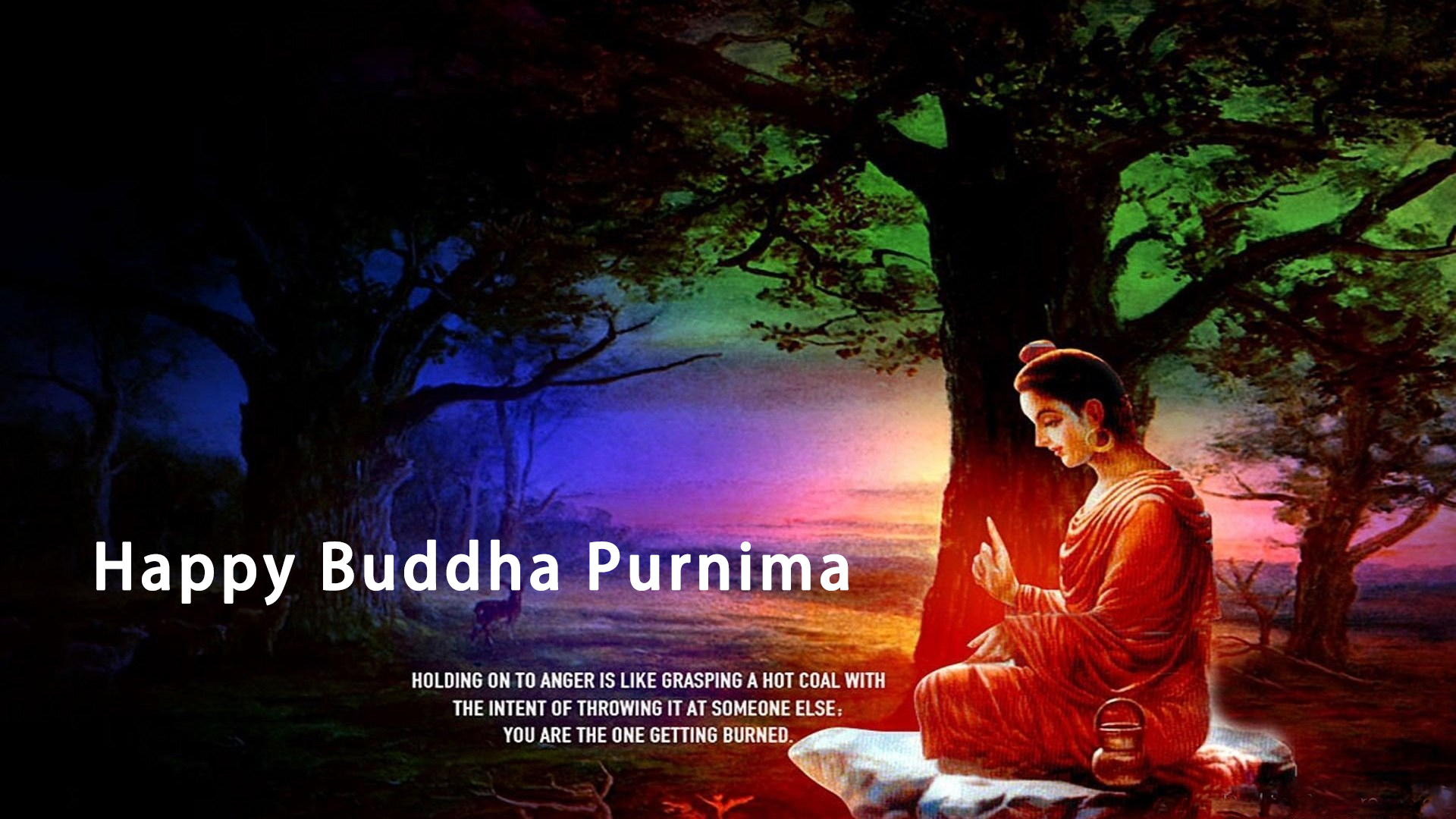 Happy Buddha Purnima Wallpapers Download